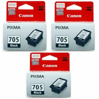 Canon 705 PG-705 Ink for Canon Inkjet Printers 6ml (Black) Set of 3 Price Philippines