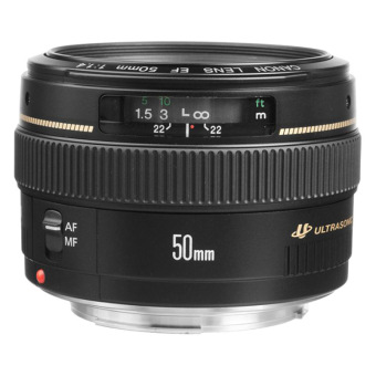 Canon EF 50mm f/1.4 f1.4 USM Lens (Black) - picture 2