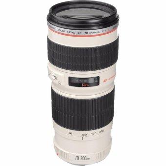 Canon EF 70-200mm f/4L f4L USM Lens (White/Black)