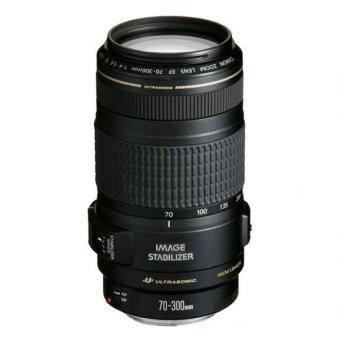 Canon EF 70-300mm f/4-5.6 IS USM Black