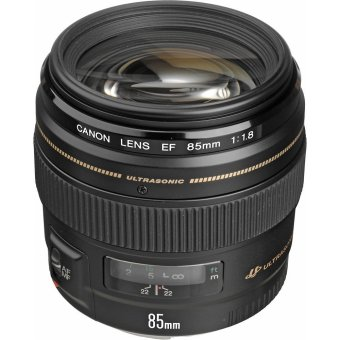 Canon EF 85mm USM f/1.8 Lens for Canon SLR Camera (Black)