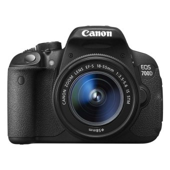 Canon EOS 700D 18MP DSLR with 18-55mm Lens Kit (Black)
