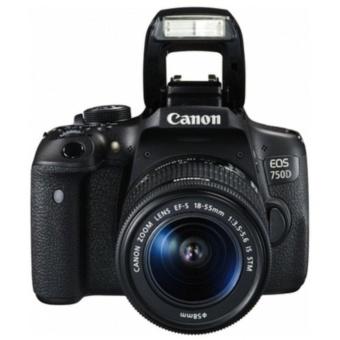 Canon EOS 750D DSLR Camera w/ EF-S 18-55mm f/3.5-5.6 IS STM Lens Kit - 2