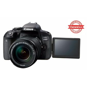 Canon EOS 800D 24.2MP with EF-S 18-135mm f/3.5-5.6 IS STM Kit + 8GBSD Memory Card