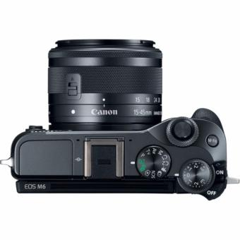 Canon EOS M6 with EF-M 15-45mm f/3.5-6.3 IS STM Lens Kit - [Black] - 3
