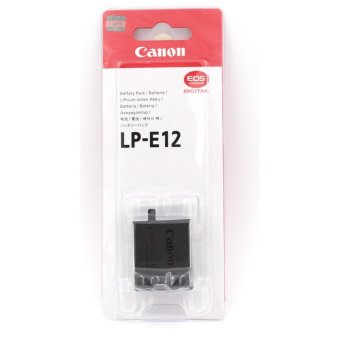 Canon Lithium-ion Digital Camera Battery Pack for Canon LP-E12 LPE12 EOS 100D Kiss X7 Rebel