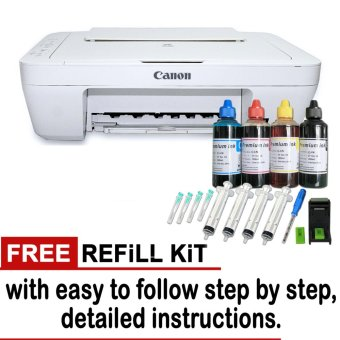 Canon Pixma MG2522 Color Print/Copy/Scan w/ free 1 set Refill Kit