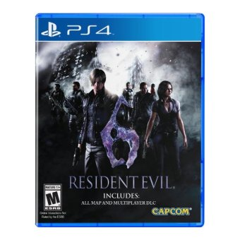 Capcom Resident Evil 6 [R3] Video Game for PS4