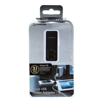 Capdase Ampo R2 Wall Charger Dual USB Power Adapter (White) - 4