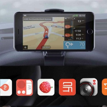 Car Dashboard Holder HUD Mount For Mobile Phone GPS Stands Accessories - intl