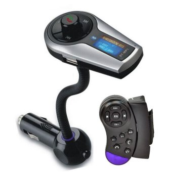 Car Kit MP3 Player Wireless Bluetooth FM Transmitter Modulator USBSD LCD - intl