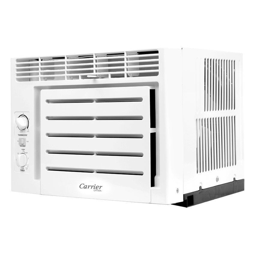 carrier air conditioning window. carrier wcary06ec 0.5hp window type air conditioner (white) - white | lazada ph conditioning