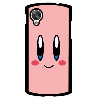 Cartoon Cute Phone Case for LG Nexus 5 (Black)