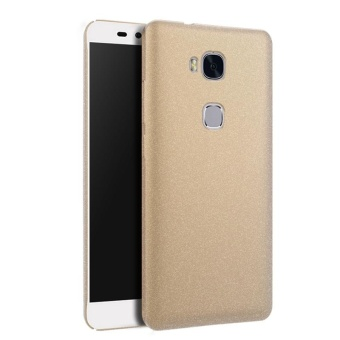 Case for Huawei Honor 5X / Huawei GR5 (5.5 inch) Slim Fit Hard PC Frosted Matte Back Case (Golden) - intl