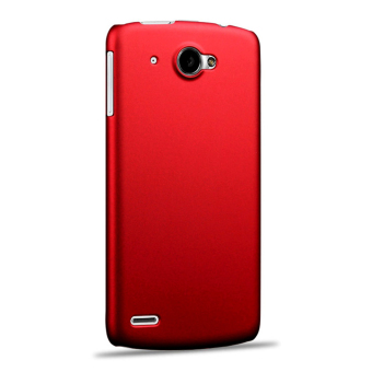 Case for Lenovo S920 Ultra Thin Slim Hard PC Snap-on Back Case - Red