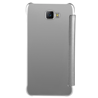 Case for Samsung Galaxy J7 Prime Luxury Mirror Clear View Flip FullBody Cover (Silver) - intl - 3
