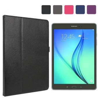 Case for Samsung Galaxy Tab A 9.7 inch Tablet SM-T550 Wi-Fi Android Leather Book Style Flip Folio Stand Case Cover with Magnetic Closure Black