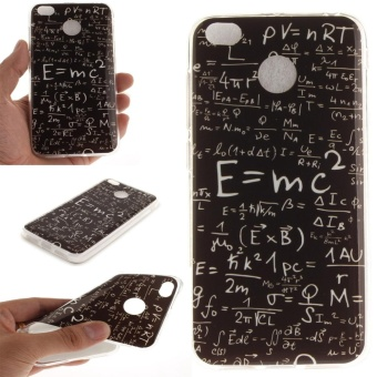 Case for Xiaomi Redmi 4X Ultra Slim Fit Soft TPU Phone Back Case (Math Formulas) - intl
