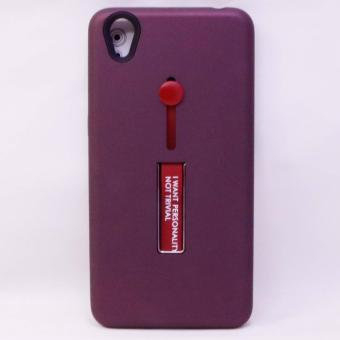 CASE R8 TPU w/HOLDER & STAND ASSORTED OPPO A37(2027-555-Maroon)