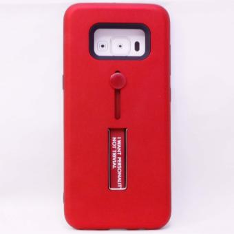 CASE R8 TPU w/HOLDER & STAND ASSORTED Samsung Galaxy S8(2027-555-Red)