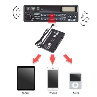 Catwalk 3.5mm AUX Car Audio Cassette Tape Adapter Transmitters forMP3 IPod CD MD iPhone - intl Price Philippines