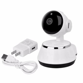 CCTV 1080p V380 Home Wireless Smart Security Surveillance IP Camera (White) -intl