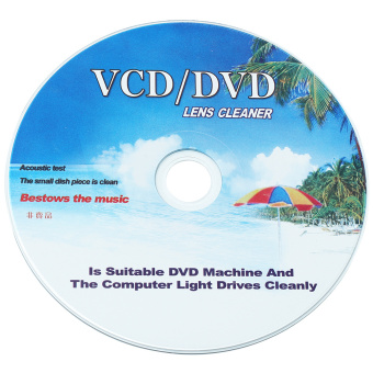 CD DVD VCD Player Lens Cleaner Dirt Dust Remover Restore withCleaning Fluid - Intl - 4