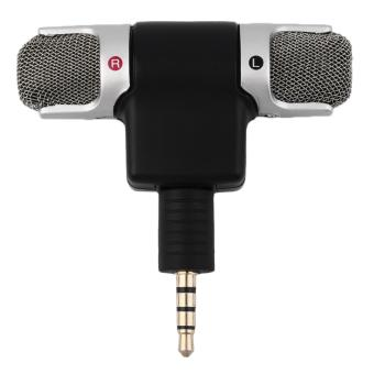 CHEER Portable Mini Mic Digital Stereo Microphone for RecorderMobile Phone