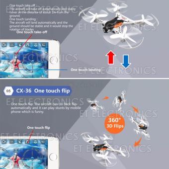 Cheerson CX-36C Mini Drone with 2MP Camera WiFi APP Control RCQuadcopter - 5