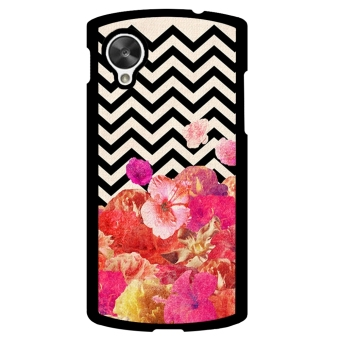 Chevron Anchor Boat Pattern Phone Case for LG Nexus 5 (Multicolor)