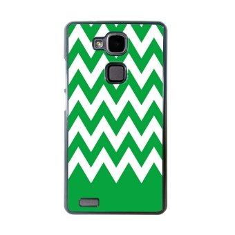 Chevron Pattern Phone Case for Huawei Mate 7 (Black)