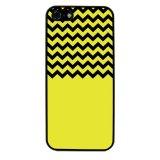 Chevron Pattern Phone Case for iPhone 4/4S (Black) - thumbnail 1