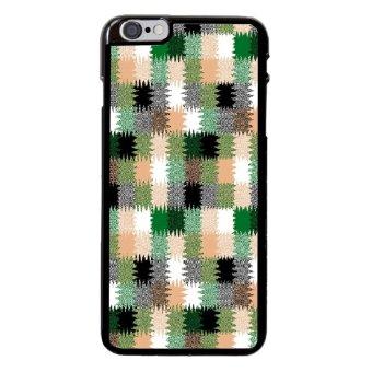 Chevron Pattern Phone Case For iPhone 6 Plus/6s Plus (Black)