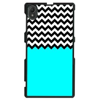 Chevron Pattern Phone Case for Sony Xperia Z1 L39h (Multicolor)