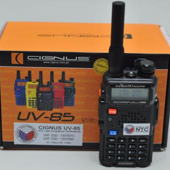 CIGNUS UV85 PORTABLE TWO WAY RADIO