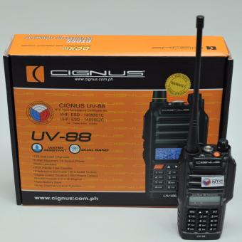CIGNUS UV88 WATER PROOF PORTABLE RADIO