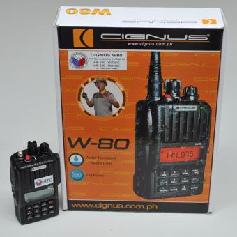 Cignus W80 Water Resistant Two Way Hand Held Radio