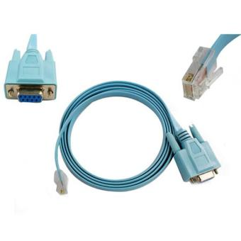 Cisco Serial of Console Cable Router DB9 to RJ45 (Blue)