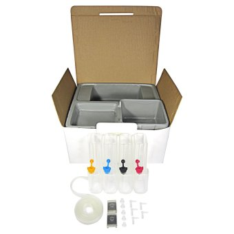 CISS DIY Repair Kit 4 Colors Ink Tank for Epson/Canon/HP/Brother - 2