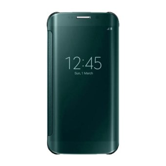 Clear Mirror View Cover for Samsung Galaxy S6 Edge Plus (Green)
