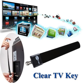 Clear TV Key HDTV FREE TV Digital Indoor Antenna 1080p Ditch CableAs Seen on TV - intl