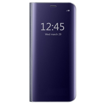 "Clear View Flip Stand Case Cover For Samsung Galaxy A5 (2017) A5205.2"" Purple - intl Price in Philippines"