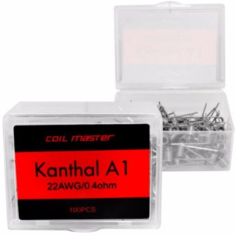 Coil Master Kanthal A1 22AWG/0.4ohm Pre-Built Wire 100pcs.