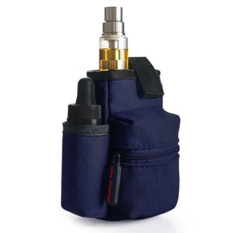 Coil Master Portable Pouch Bag for Electronic Cigarette (Dark Blue)