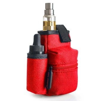 Coil Master Portable Pouch Bag for Electronic Cigarette (Red)
