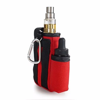 Coil Master Portable Pouch Bag for Electronic Cigarette (Red) - 4
