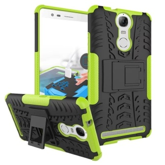 Compatible for Lenovo Vibe K5 Note Dual Layer 2 in 1 Rugged RubberHybrid Protective Armor Phone