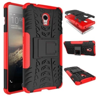 Compatible for Lenovo Vibe P1 Dual Layer 2 in 1 Rugged RubberHybrid Protective Armor Phone Cover Case VROOM - intl - 2