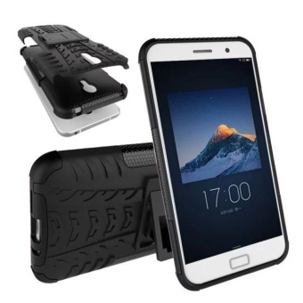 Compatible for Lenovo ZUK Z1 Dual Layer 2 in 1 Rugged Rubber HybridProtective Armor Phone Cover Case VROOM - intl