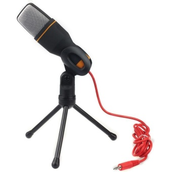 Condenser Sound Studio Microphone Mic For Chat PC Laptop Skype MSNBK - intl